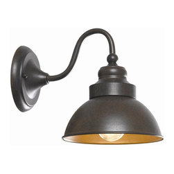 World Imports - Dark Sky 1 Light Outdoor Wall Lantern in Bron - Manufacturer SKU: WI 9121S89. Bulbs not included. Bronze Finish. Dark Sky Collection. 1 Light. Power: 60W. Type of bulb: Medium (Regular). Bronze finish. 11 in. Ext.. Back Plate 5 in. D. 7.5 in. W x 9 in. H (4 lbs.)