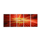 Matthew's Art Gallery - Metal Wall Art Abstract Modern Contemporary Rise Universe - Name: Rise of the Universe