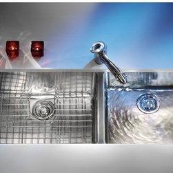 Franke KBX12039 Kubus Undermount Double Bowl Kitchen Sink -