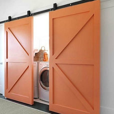 5 Quick Fixes: Clever Camouflage for the Washer/Dryer : Remodelista