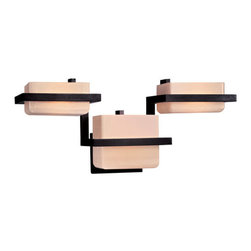 """Kovacs - Kovacs GK P373 3 Light 21.75"""" Wide Bathroom Fixture from the Tower Collection - George Kovacs P373 Three Light Bathroom Fixture from the Tower Collection"""