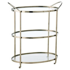 traditional bar carts by Lamps Plus