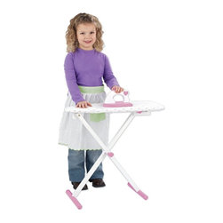 KidKraft - KidKraft Tiffany Ironing Board Set - 62111 - Shop for Cooking and Housekeeping from Hayneedle.com! Let your little one mimic mommy by playing with the KidKraft Tiffany Ironing Board Set. Let her iron some doll clothes while she still thinks it is fun! Some assembly required; ships with all necessary fasteners and easy-to-follow instructions. Includes 90-day manufacturer's warranty.