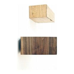 Debra Folz Design - Debra Folz Design Askew Shelves - Play with perception and upturn convention ...
