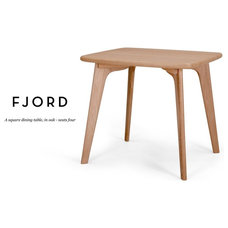 Fjord Square Dining Table in oak | made.com