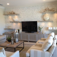 Modern Display And Wall Shelves  by Custom Closets & More...