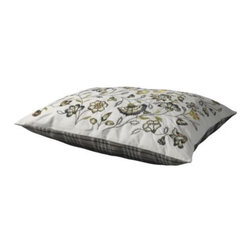 ALVINE LÖV Cushion - Cushion, gray, green