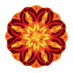 Grund - Grund Designer Tapestry Art-Knoweldge of Self Series-Extra Large-Multi - Mandalas - How one recurring dream becomes inspiration in your home!