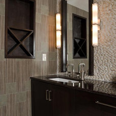 Modern Bathroom Vanities And Sink Consoles by Scandia Kitchens Inc.