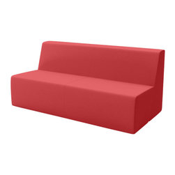 Turnstone - Campfire Big Lounge - The Campfire Big Lounge is just what its name implies - a big lounge. This armless workplace sofa seats three comfortably and can be placed anywhere you want employees to be creative and think for a while. Perfect for impromptu meetings. Wood frame, polyester upholstery, foam padding.