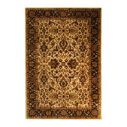 """Safavieh - Persian Legend Brown/Black Area Rug PL523D - 2'6"""" x 12' - Inspired by the legendary designs of Persia's most prestigious rug-weaving capitals, these extraordinary reproductions recreate some of the most prized antiques in Safavieh's archival collection. Intricate Tabriz, Lavar Kerman and Isfahan hand-knotted motifs are remarkably adapted to these hand-tufted rugs of incomparable quality. The finest New Zealand wool is chosen to achieve the intricate weave of these carpets. With utmost attention to every detail, Safavieh creates its Persian Legends Collection in India to provide consumers an exquisite yet affordable artisan-crafted look."""
