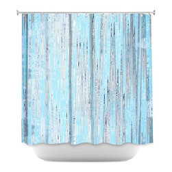 DiaNoche Designs - Shower Curtain Artistic - Correlation IV - DiaNoche Designs works with artists from around the world to bring unique, artistic products to decorate all aspects of your home.  Our designer Shower Curtains will be the talk of every guest to visit your bathroom!  Our Shower Curtains have Sewn reinforced holes for curtain rings, Shower Curtain Rings Not Included.  Dye Sublimation printing adheres the ink to the material for long life and durability. Machine Wash upon arrival for maximum softness on cold and dry low.  Printed in USA.
