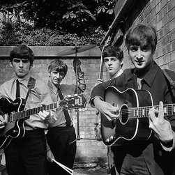"The Beatles Back Yard, 48"" X 72"" - Silver Gelatin, Limited Edition, Signed and Numbered (editions of 50 with 10 artists proofs)"