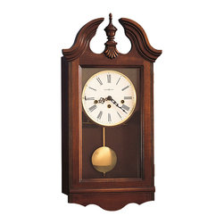 Howard Miller - Howard Miller Chiming Key Wound Wall Clock with Pendulum | LANCASTER - 620132 Lancaster