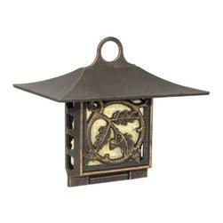 Whitehall Products LLC - Oak Leaf Suet Feeder - Oil Rub Bronze - Features: