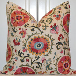 Decorative Pillow Cover, Jewel by Turquoise Tumbleweed