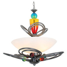 Eclectic Pendant Lighting by Butler Lighting of High Point