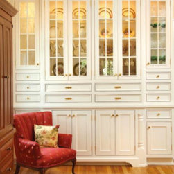 Cooley Custom Cabinetry - Butler's Pantry and hutch cabinetry by Cooley Custom Cabinetry.