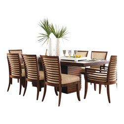 Tommy Bahama Home - Tommy Bahama Home Ocean Club Peninsula Dining Table - Tommy Bahama Home - Dining Tables - 010536876C