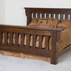 traditional beds by Viking Log Furniture