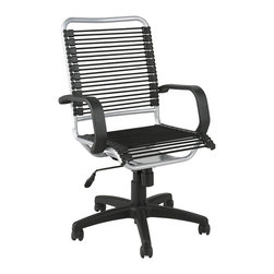 Euro Style - Euro Style Bradley Bungie Office Chair 02549 - Designed to fit your seat. And your back. And your work style. With natural ventilation, the Bungies turn long hours of work into the comfort zone.