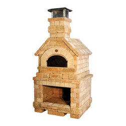 Chicago Brick Oven's Grande Mario Batali Vesuvio Pizza Oven - In our perfect world this would be on our patio. We love to cook and have fantasized for years about owning a real wood fired oven. When the weather isn't below zero, we cook much of the time on our patio on a collection of different grills, however, this would be the ultimate. Someday.