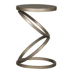 Spot Table - The Spot table looks as if it could leap off the floor, which might just be the bit of fun Thom Filicia was looking for. It is such a whimsical piece that makes a room come to life.
