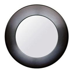Babette Holland Sunburst Aluminum Modern Wall Mirror -