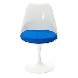 Modway Imports - Modway EEI-115-BLU Lippa Dining Metal Side Chair In Blue - Modway EEI-115-BLU Lippa Dining Metal Side Chair In Blue
