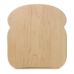 Maple Bread Board - Carved from a single slab of Canadian sugar maple, this exquisitely crafted bread-shaped cutting board is sure to last a lifetime.
