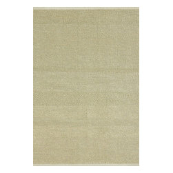Loloi Rugs - Loloi Rugs Green Valley Ivory Transitional Hand Woven Rug X-0BA700VI10-VGEERG - Hand woven in India of seagrass and cotton, the Green Valley Collection breathes organic beauty in the floors of any home with these solid and striped designs. And with a raw textural surface, Green Valley adds a distinctly natural vibe to the room.