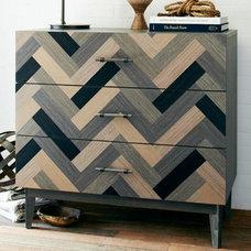 Parquetry 3-Drawer Dresser | West Elm