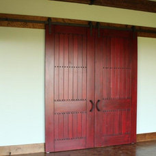 Traditional Interior Doors by Green Valley Beam & Truss Co.