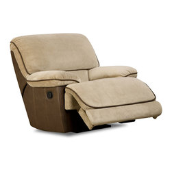 Chelsea Home Furniture - Chelsea Home Dogwood Rocker Recliner in Rhino Muse - Lying Eyes Chocolate - Dogwood Rocker Recliner in Rhino Muse - Lying Eyes Chocolate belongs to the Chelsea Home Furniture collection