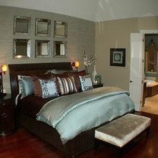 Eclectic Bedroom by Sweetlake Interior Design LLC