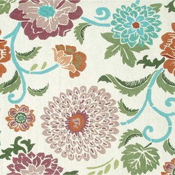 The Rug Market - Poppy Scrolls area rug -