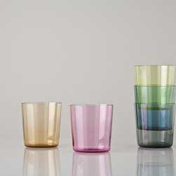 Set of Five Small Apollo Tumblers - I'm dying to use these for my next get together; thanks to the five unique colors in the set, no one will ever mix up their drinks again!
