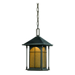 """Triarch International - Triarch International 79137-14 Single Light 17""""H Exterior Pendant LED C - Triarch International 79137-14 Single Light 17""""H Exterior Pendant from the LED Collection""""Go Green"""" with the newest technology in energy saving lighting.Features:"""