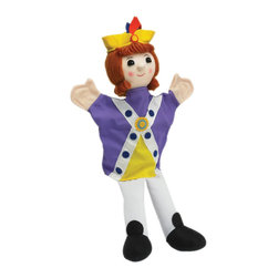 """The Original Toy Company - The Original Toy Company Kids Children Play Prince - Prince is the new puppet to join our family, He is about 14"""" in height, and presented in a number of bright color fabrics, great addition for a Royal Set, or just simple role play. Age - 1 year plus. Weight: 2 lbs."""