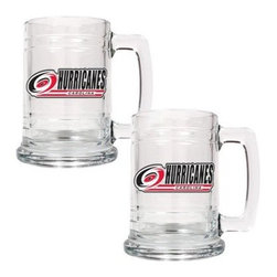Great American NHL 15 oz. Glass Tankard Set - About Great American ProductsWith beginnings as a belt buckle maker in Texas, Great American products has become the leader in licensed metal emblems and the products that they adorn. With licenses with every major sports league, Great American products a wide range of unique products like drinkware, coolers, and kitchen accessories for the dedicated fan.
