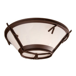Steel Partners Inc - Round Drop Ceiling Mount - STICKS - Every piece we create is unique — handcrafted at our factory in Chehalis, Washington, USA. Due to this, lead times are 2 to 4 weeks.