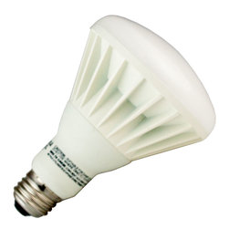 Osram Sylvania - Sylvania 72888 - 12W 120V BR30 LED Flood, Neutral White, Dimmable - The Sylvania 72888, LED12BR30/DIM/SE/830 12 watt BR30 LED flood provides the same light output as a 65 watt BR30 incandescent.The 3000K color temperature of this bulb produces slightly whiter appearing light at full light output than the conventional warm white incandescent. When dimmed, this bulb features true warm dimming to match dimming characteristics of incandescent. Color temperature changes from 3000K to 2000K as the bulb progressively dims to 10 percent on compatible phase-cut dimmers. For optimum dimming, see compatible dimmers below.