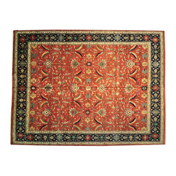 Oriental Rug, Hand Knotted Heriz Mansion Size 100% Wool 15'X20' Rug SH13381 - This collections consists of well known classical southwestern designs like Kazaks, Serapis, Herizs, Mamluks, Kilims, and Bokaras. These tribal motifs are very popular down in the South and especially out west.