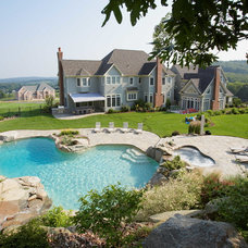 Traditional Swimming Pools And Spas by Aqua Pools