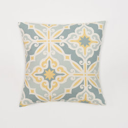 Look Here Jane, LLC - Harford Saffron Pillow Cover - PILLOW COVER