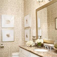 Contemporary Bathroom by Jennifer Brouwer (Jennifer Brouwer Design Inc)
