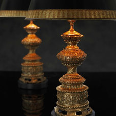 Traditional Table Lamps by Ebanista