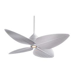 "Minka Aire - Minka Aire F581WHF Gauguin Flat White 52"" Ceiling Fan - Minka Aire F581WHF Gauguin Flat White 52"" Ceiling Fan"