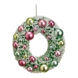 Silk Plants Direct - Silk Plants Direct Christmas Ball Wreath Ornament Mix (Pack of 12) - Silk Plants Direct specializes in manufacturing, design and supply of the most life-like, premium quality artificial plants, trees, flowers, arrangements, topiaries and containers for home, office and commercial use. Our Christmas Ball Wreath Ornament Mix includes the following: