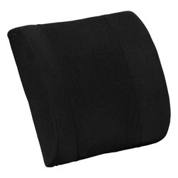 Flash Furniture - Lumbar Cushion with Strap - If you have to sit for hours at a stretch, chances are your back will bother you at some time. The portable lumbar cushion holds your lower back in the proper ergonomic position and you can use it in the car, at the office or on an airplane.